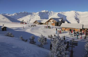 montagne Domaine skiable Galibier Thabor
