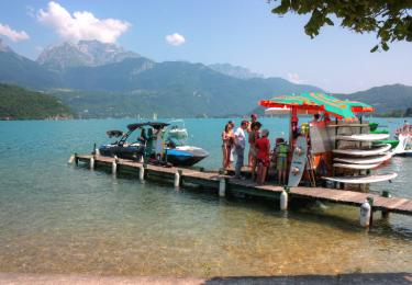 Wakeboard au Lac d'Annecy